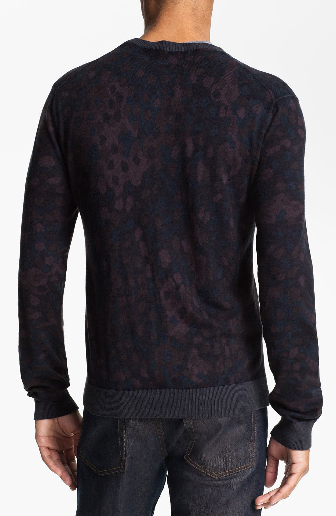 Alternate Image 2  - MARC BY MARC JACOBS Camouflage Crewneck Sweater