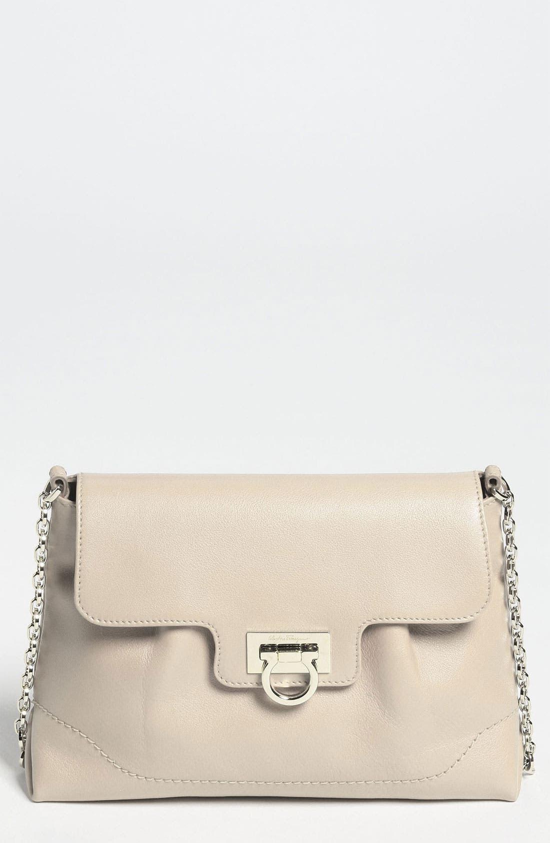 Main Image - Salvatore Ferragamo 'Amelie' Leather Shoulder Bag