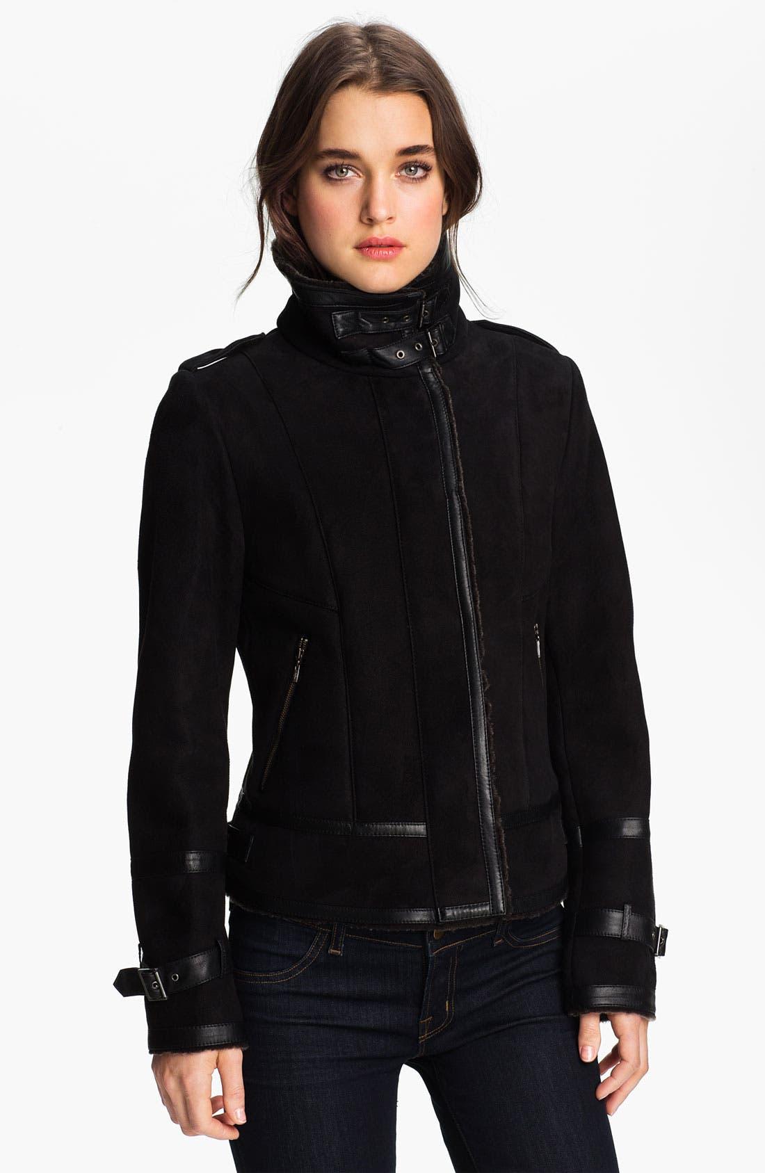 Alternate Image 2  - Cole Haan Genuine Shearling Jacket