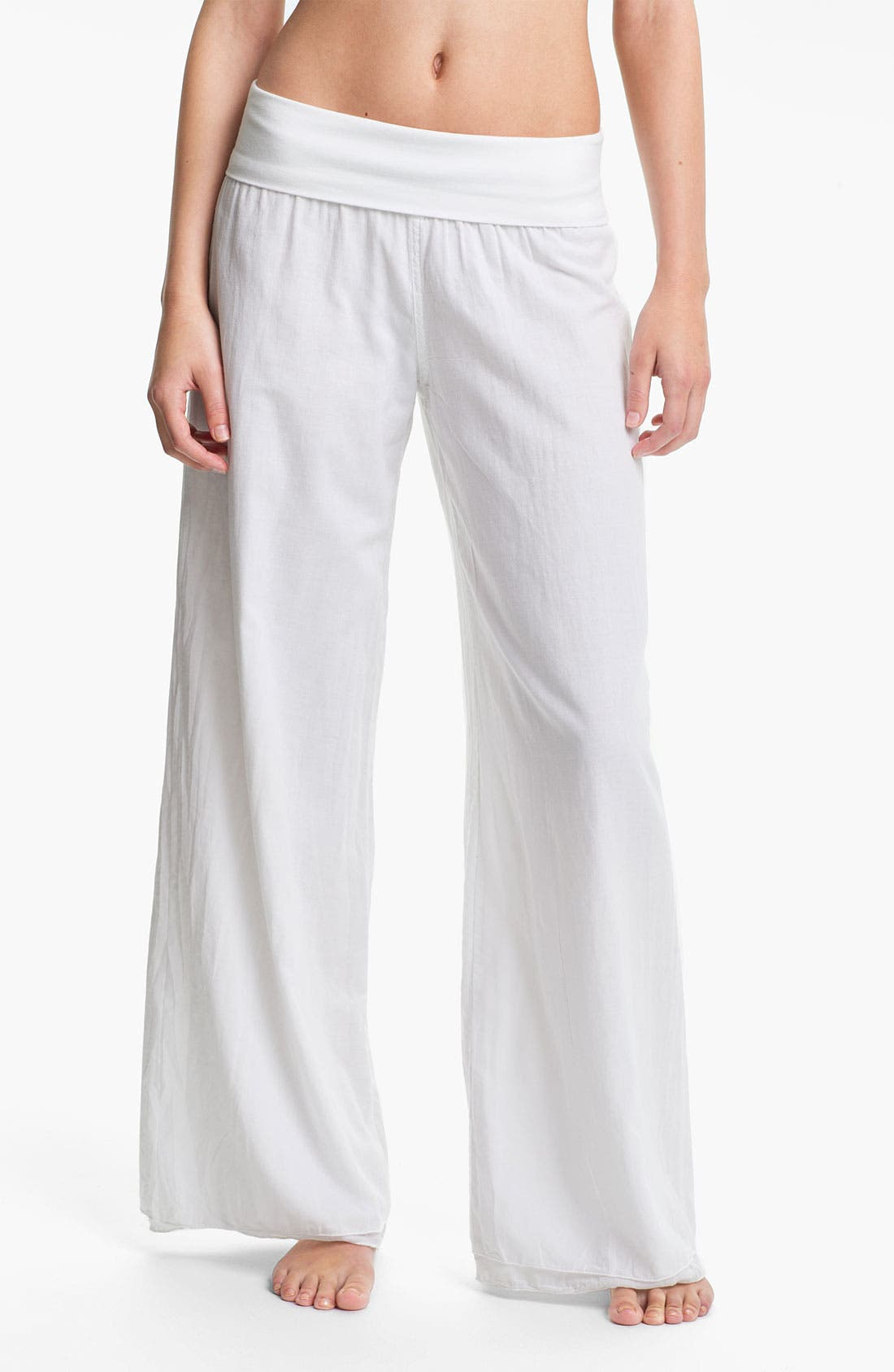 Alternate Image 1 Selected - Hard Tail Voile Pants