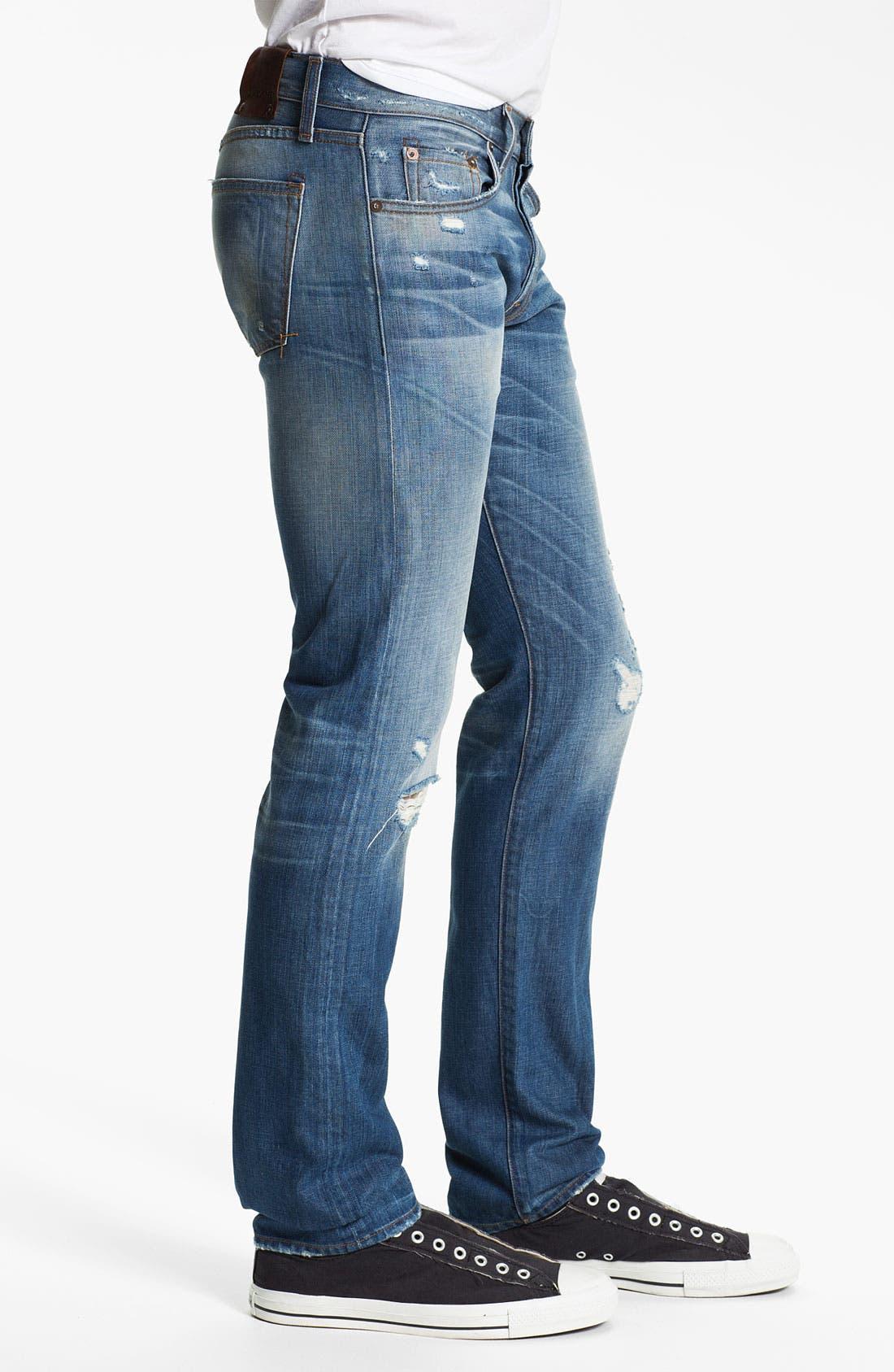 Alternate Image 3  - J Brand 'Tyler' Slim Straight Leg Jeans (Reckless)