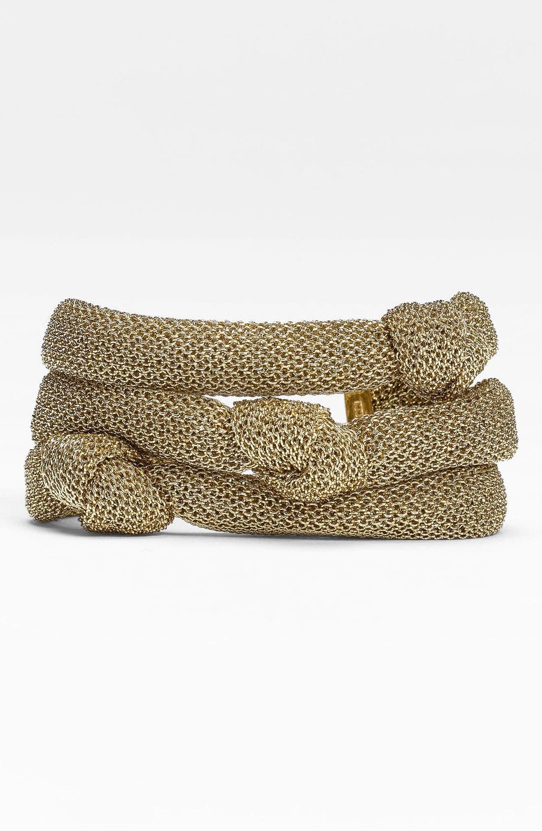 Alternate Image 1 Selected - Adami & Martucci 'Mesh' Knot Bracelet (Nordstrom Exclusive)