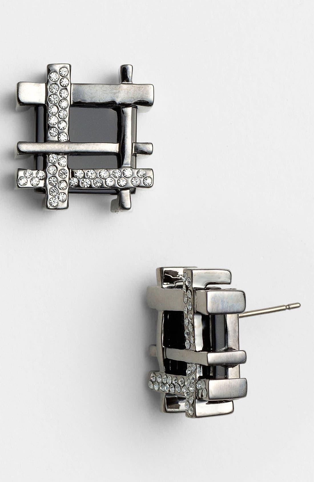 Alternate Image 1 Selected - Tory Burch Stud Earrings