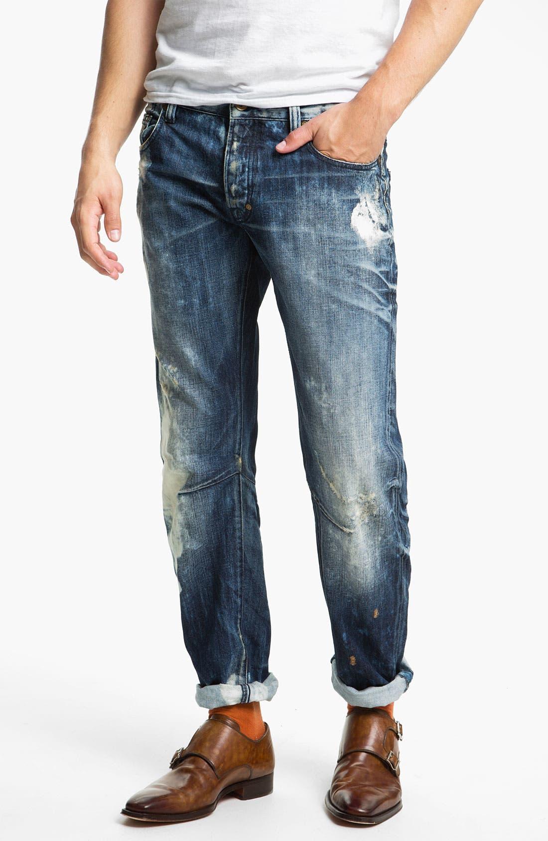 Alternate Image 2  - PRPS 'Valley of Silence Barracuda' Straight Leg Jeans (Indigo)