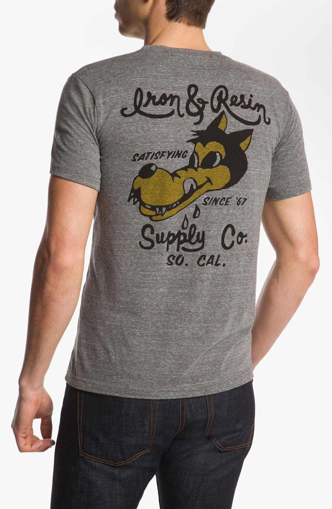 Alternate Image 2  - Iron & Resin 'Wolfgang' T-Shirt