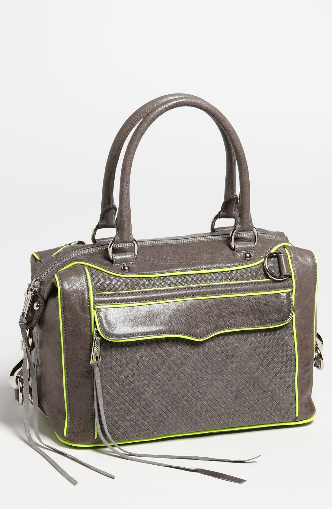 Alternate Image 1 Selected - Rebecca Minkoff 'Mini MAB' Leather Satchel