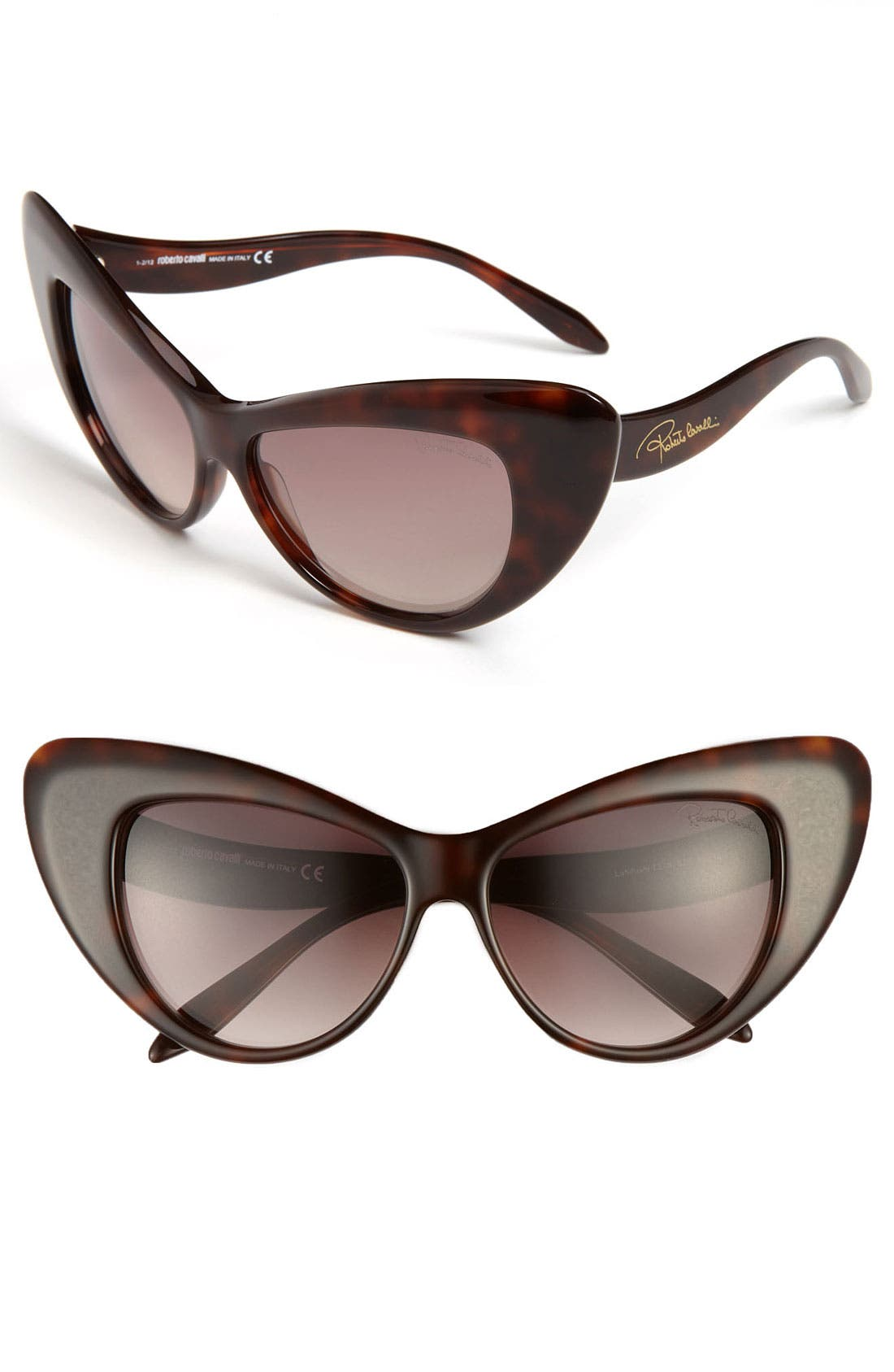 Alternate Image 1 Selected - Roberto Cavalli 58mm Retro Sunglasses