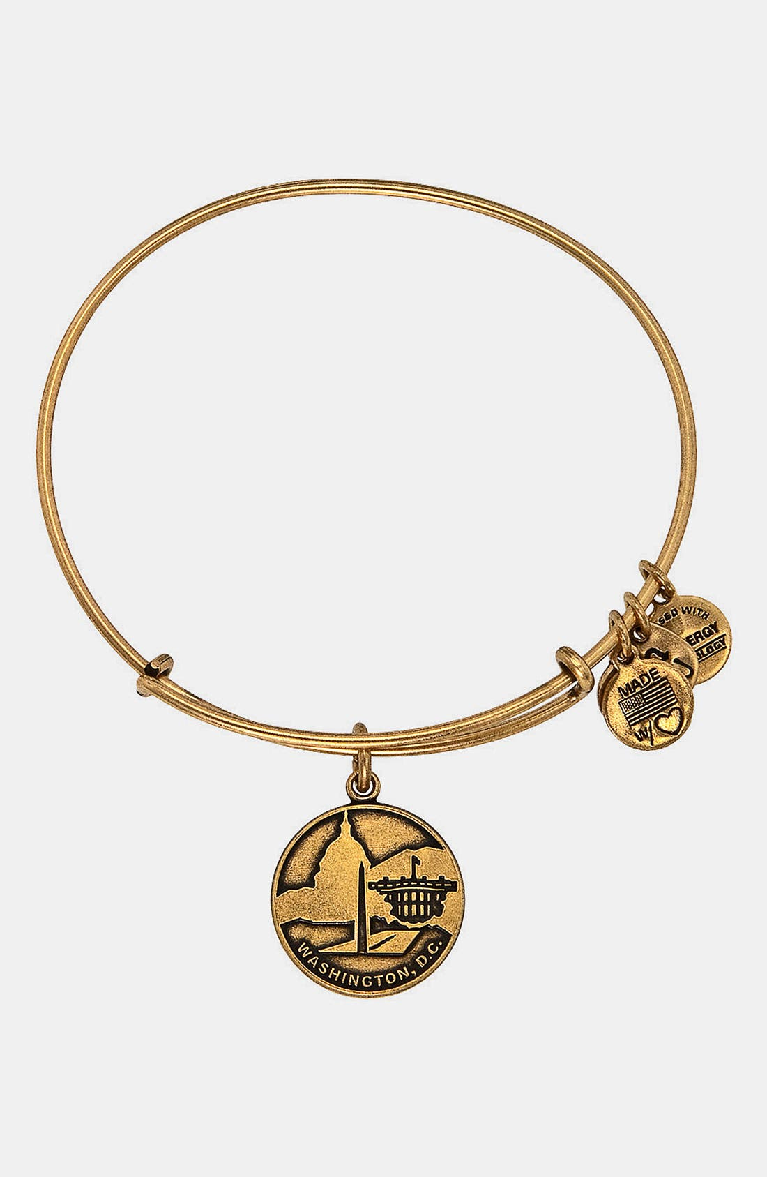 Main Image - Alex and Ani 'Washington DC' Expandable Wire Bracelet
