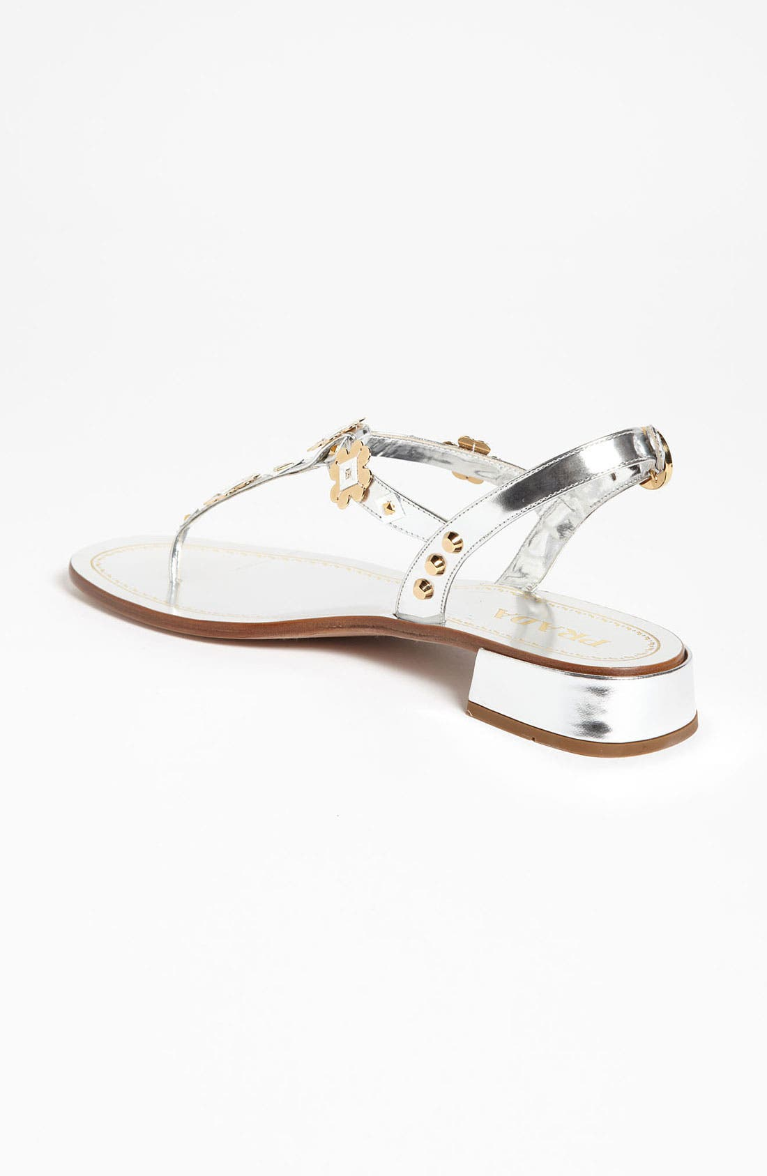 Alternate Image 2  - Prada Appliqué Thong Sandal