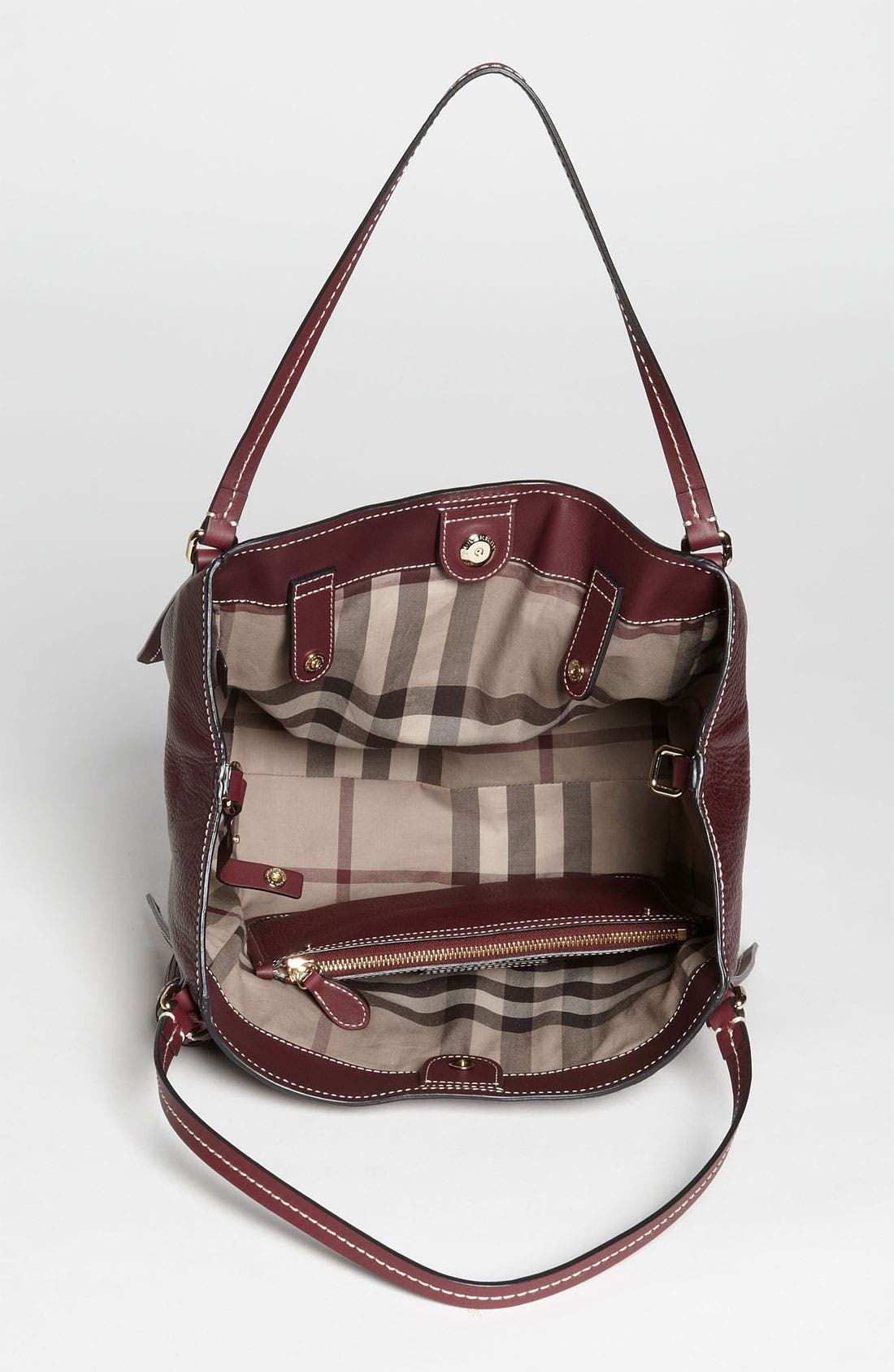 Alternate Image 3  - Burberry 'Saddle Stitch' Leather Tote