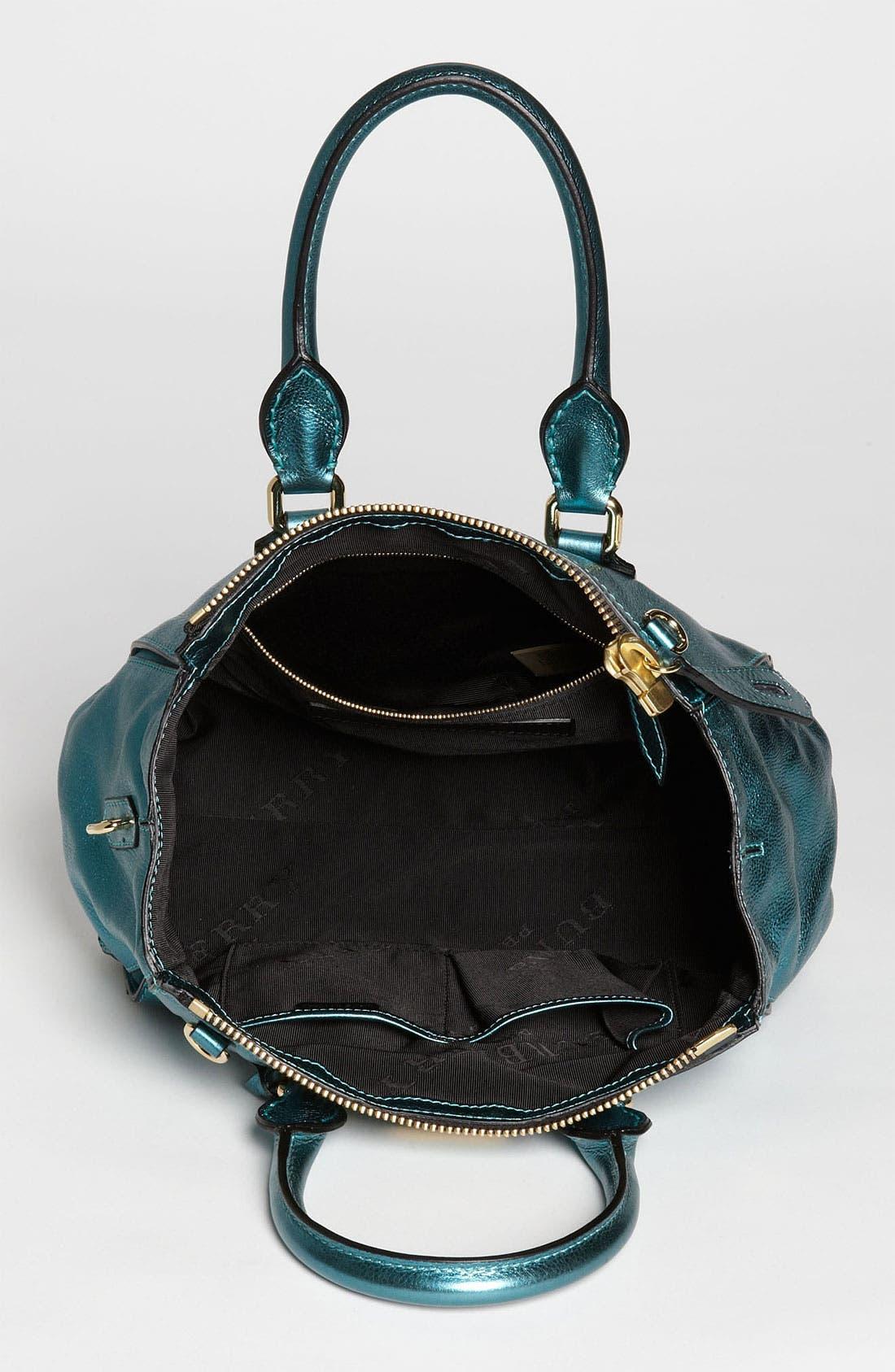Alternate Image 3  - Burberry 'Soft Grainy Metallic' Leather Satchel