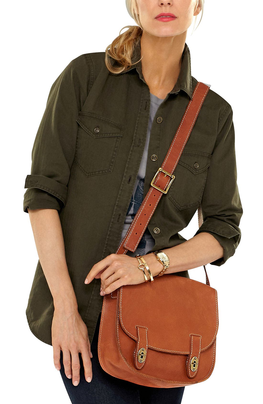 Alternate Image 2  - Fossil 'Austin - Large' Satchel