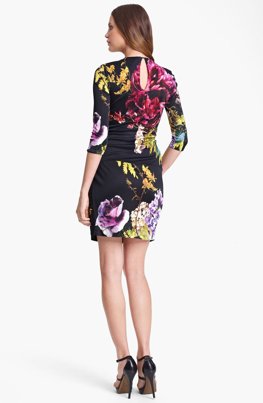Alternate Image 2  - Roberto Cavalli 'Armoise Print' Ruched Jersey Dress