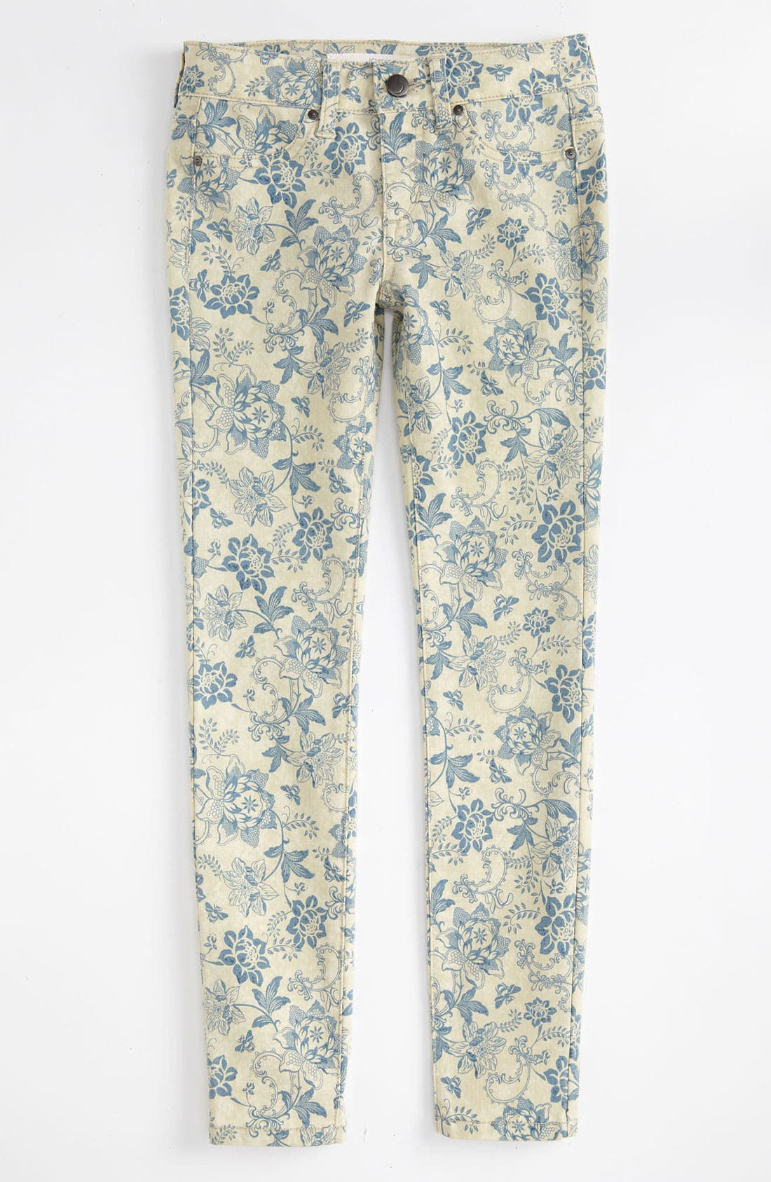 Alternate Image 2  - Joe's Print Denim Jeggings (Big Girls)