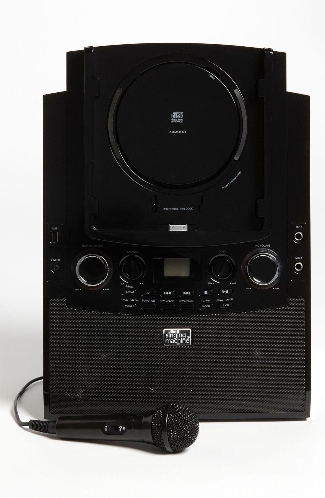 Alternate Image 2  - Singing Machine iPad Docking Karaoke System (Girls)