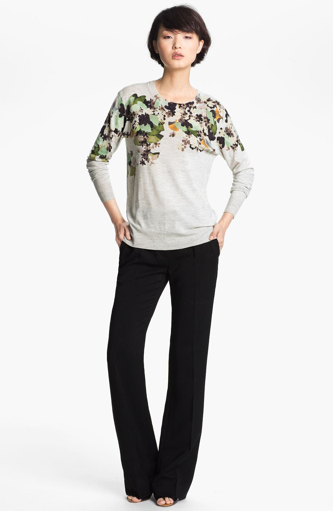 Alternate Image 1 Selected - 3.1 Phillip Lim Floral Print Sweater