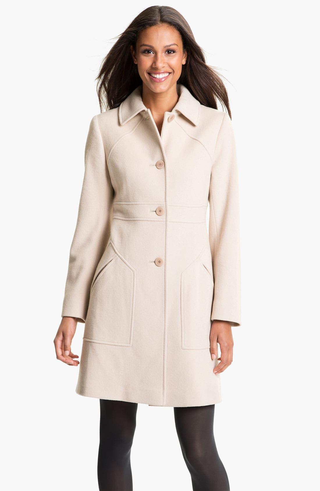 Main Image - Fleurette Loro Piana Wool Coat