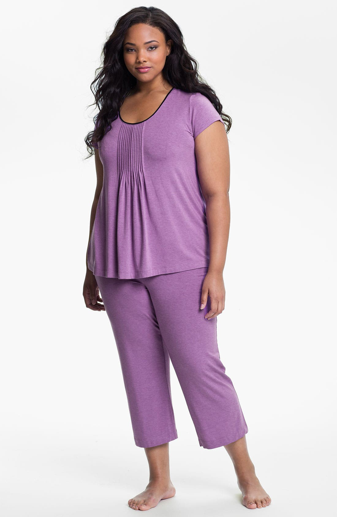 Alternate Image 4  - DKNY '7 Easy Pieces' Capri Pants (Plus Size)