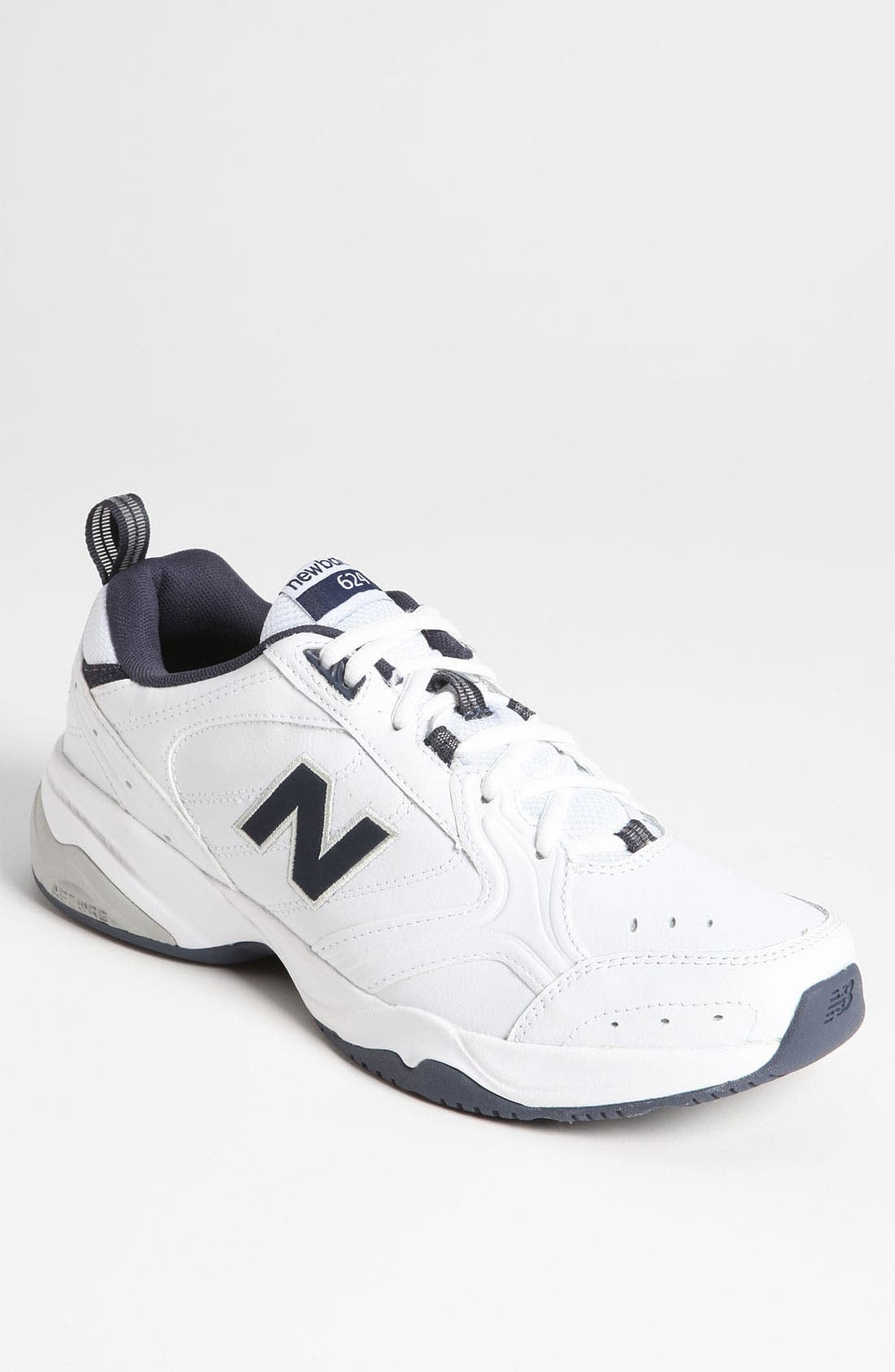 '624' Training Shoe,                         Main,                         color, White/ Navy