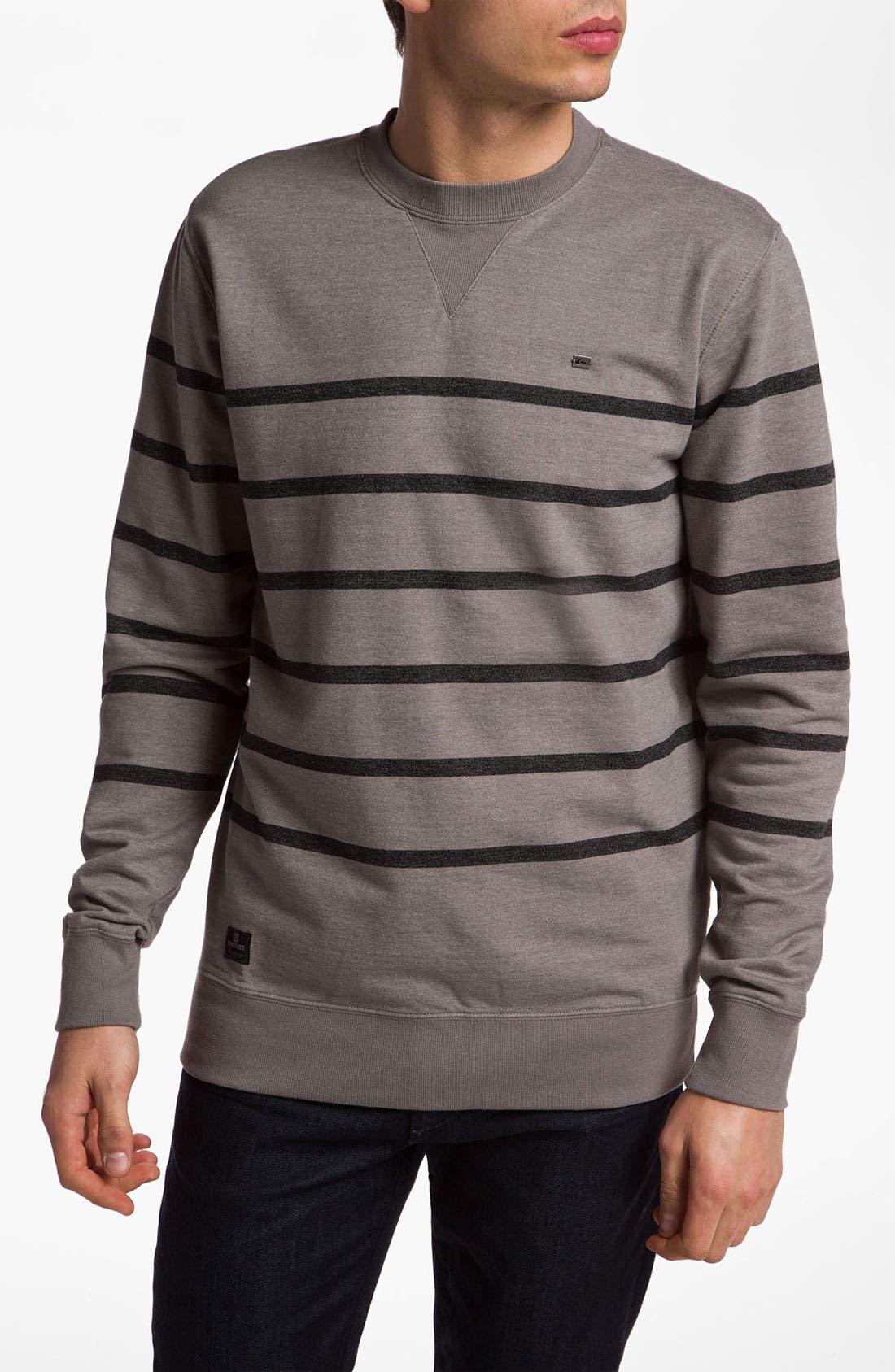 Alternate Image 1 Selected - Quiksilver 'Malone' Crewneck Sweatshirt