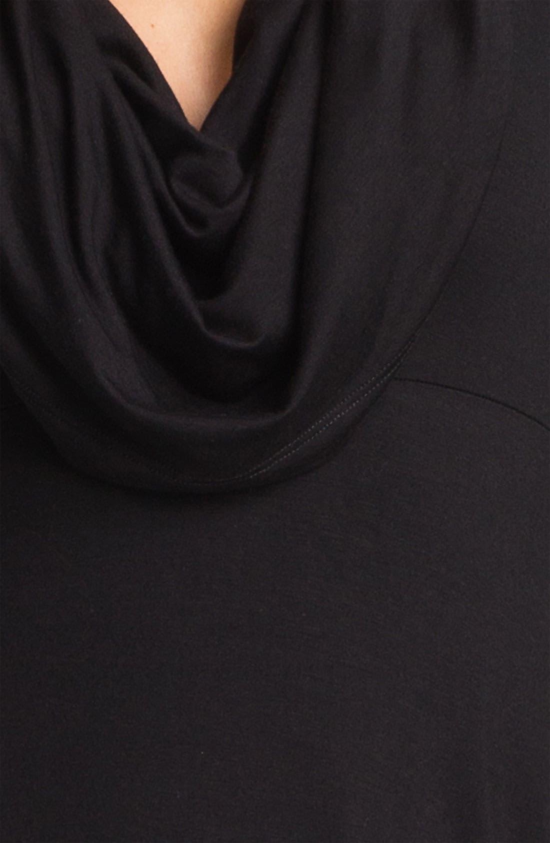 Alternate Image 3  - Karen Kane Drape Neck Dress (Online Exclusive)