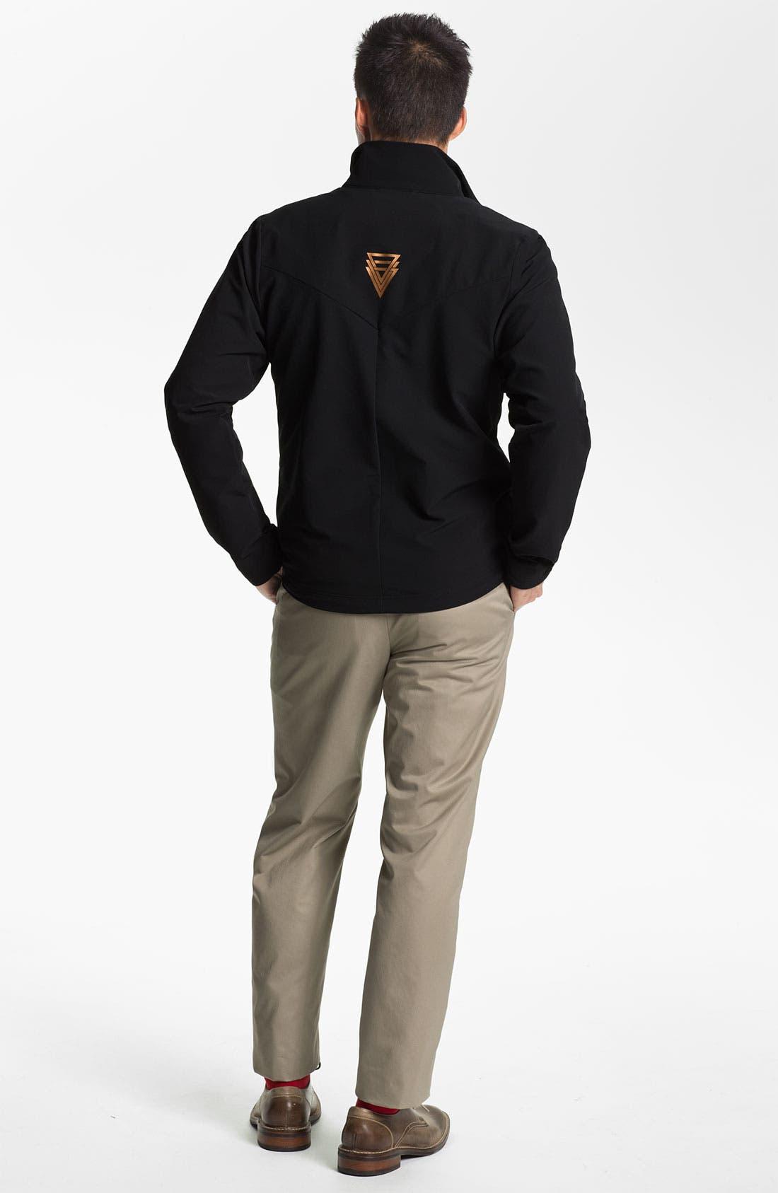 Alternate Image 5  - Wallin & Bros. Pima Cotton Blend Sweater