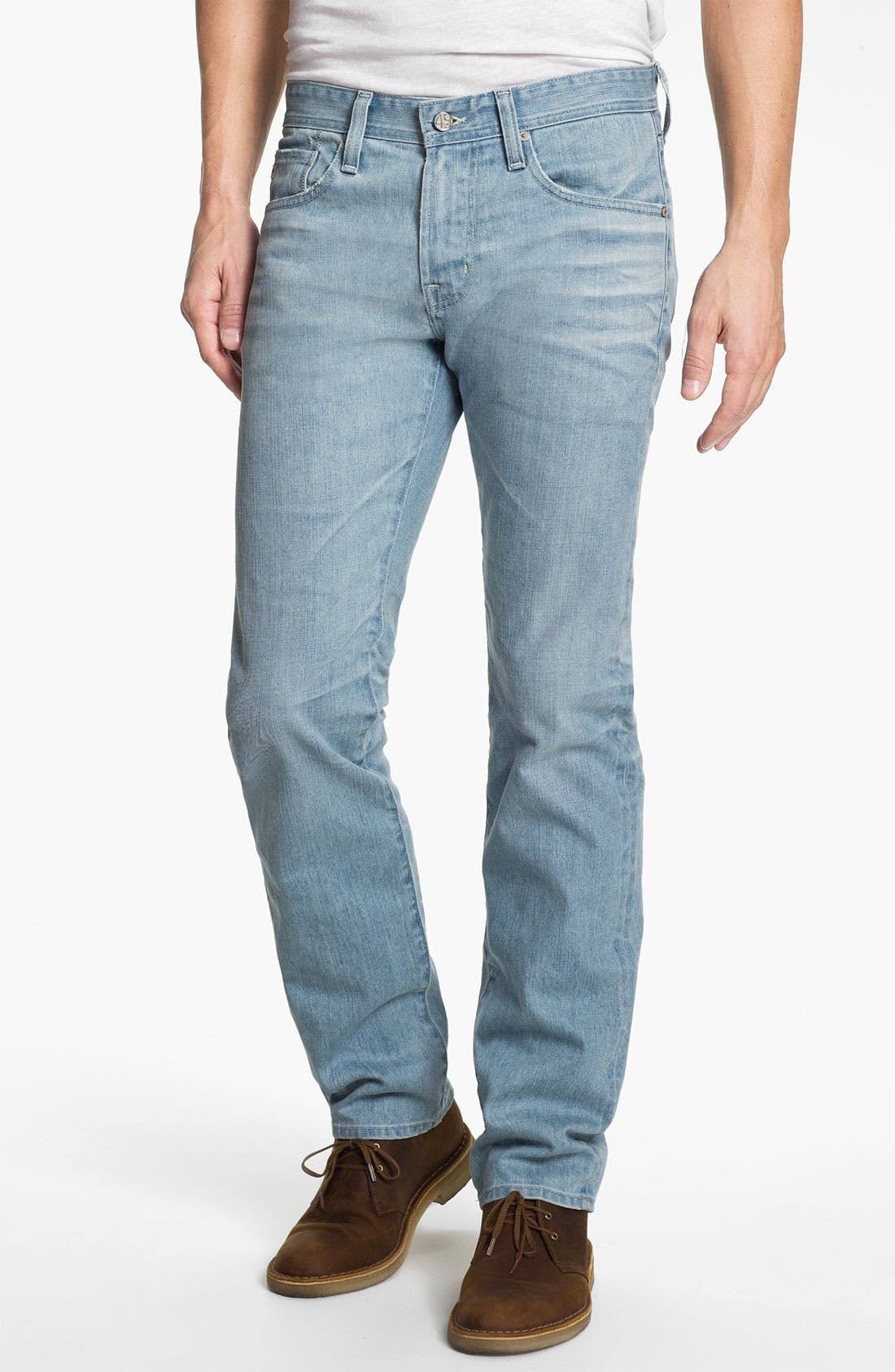 Alternate Image 1 Selected - AG 'Matchbox' Slim Fit Jeans (24 Year Fade)
