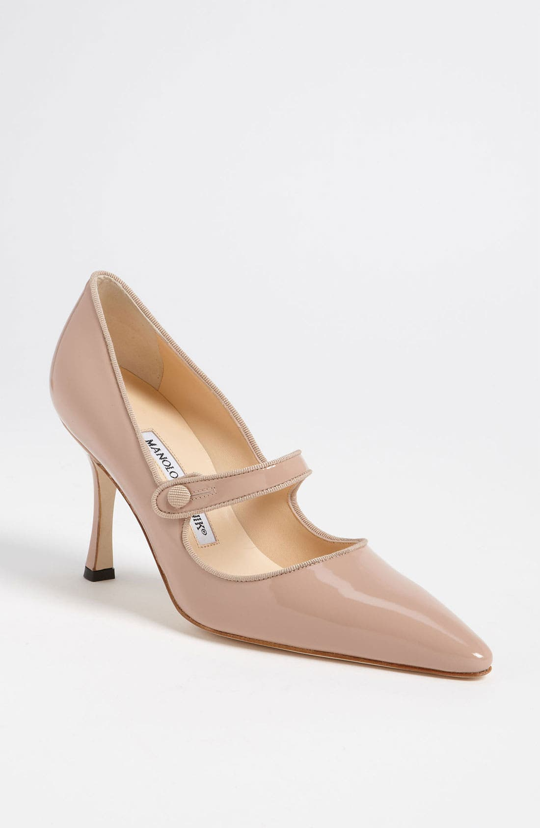 'Campari' Pump,                         Main,                         color, Nude
