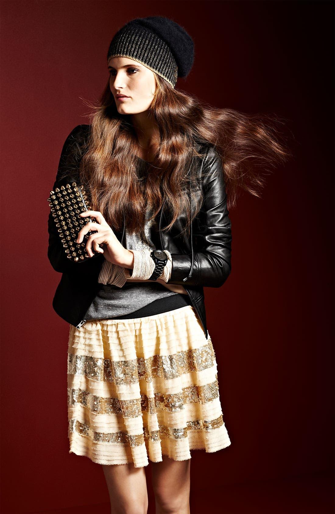 Alternate Image 5  - Trouvé Leather Hoodie