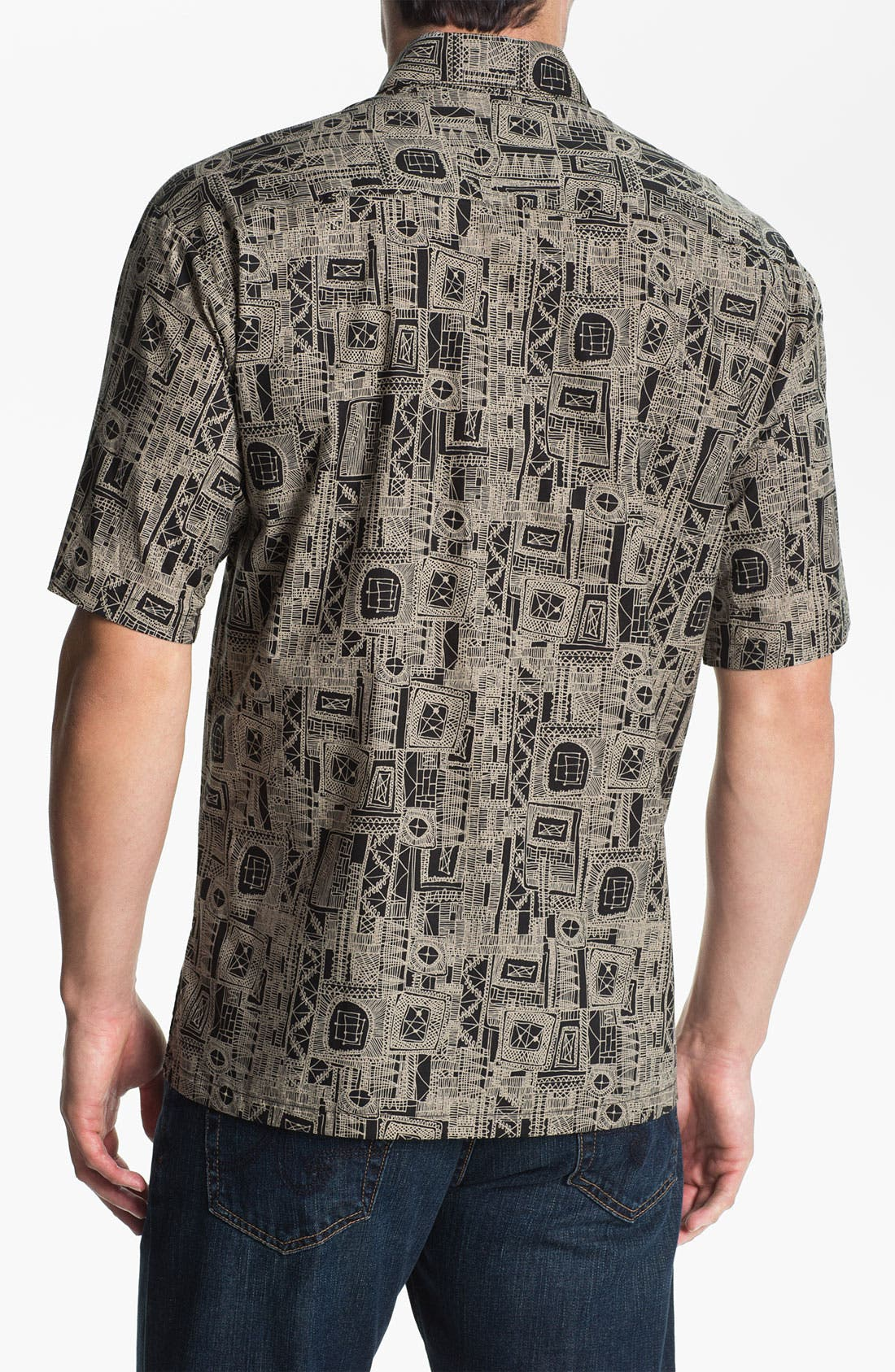 Alternate Image 2  - Tori Richard 'Cassiopeia' Campshirt (Big & Tall)
