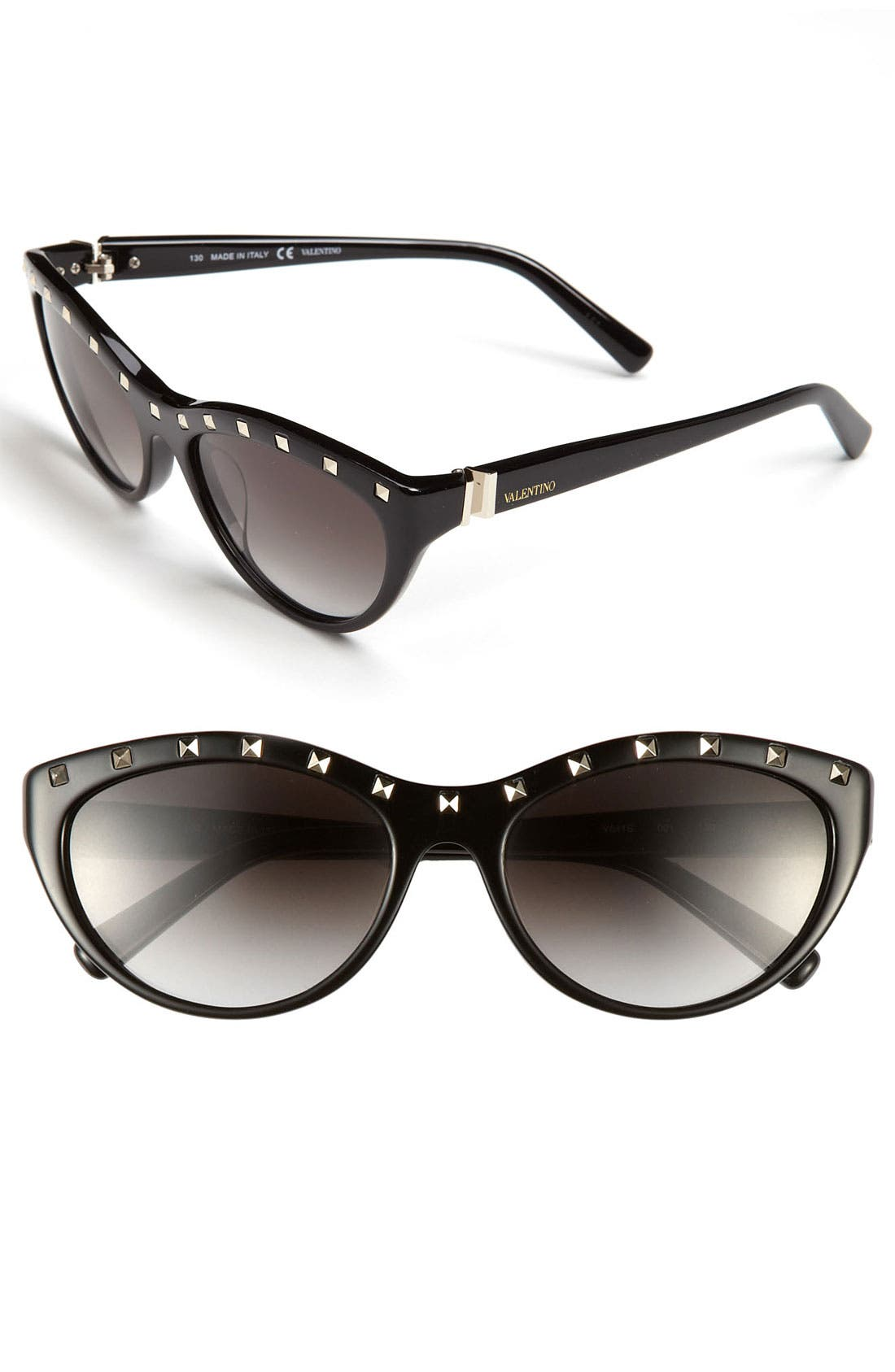 Main Image - Valentino 'Rockstud' 54mm Cat Eye Sunglasses