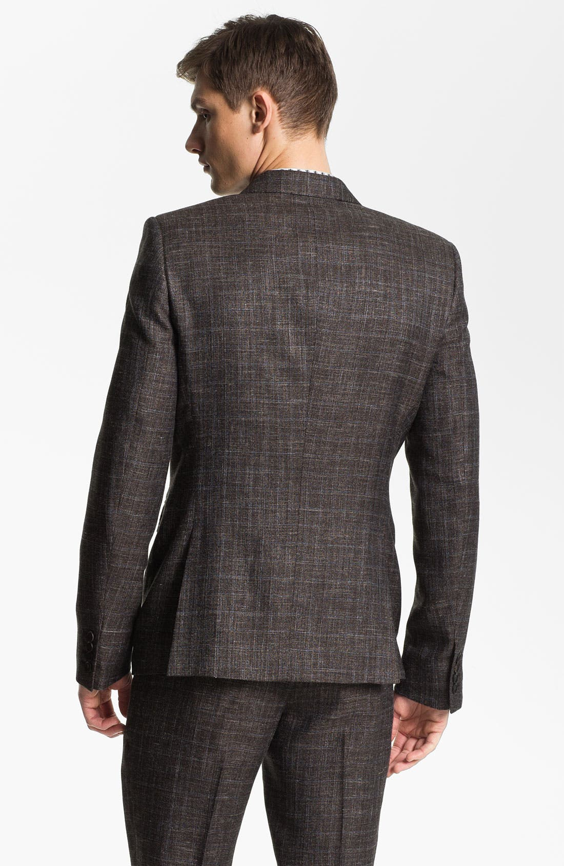 Alternate Image 2  - Burberry Prorsum Plaid Twill Sportcoat