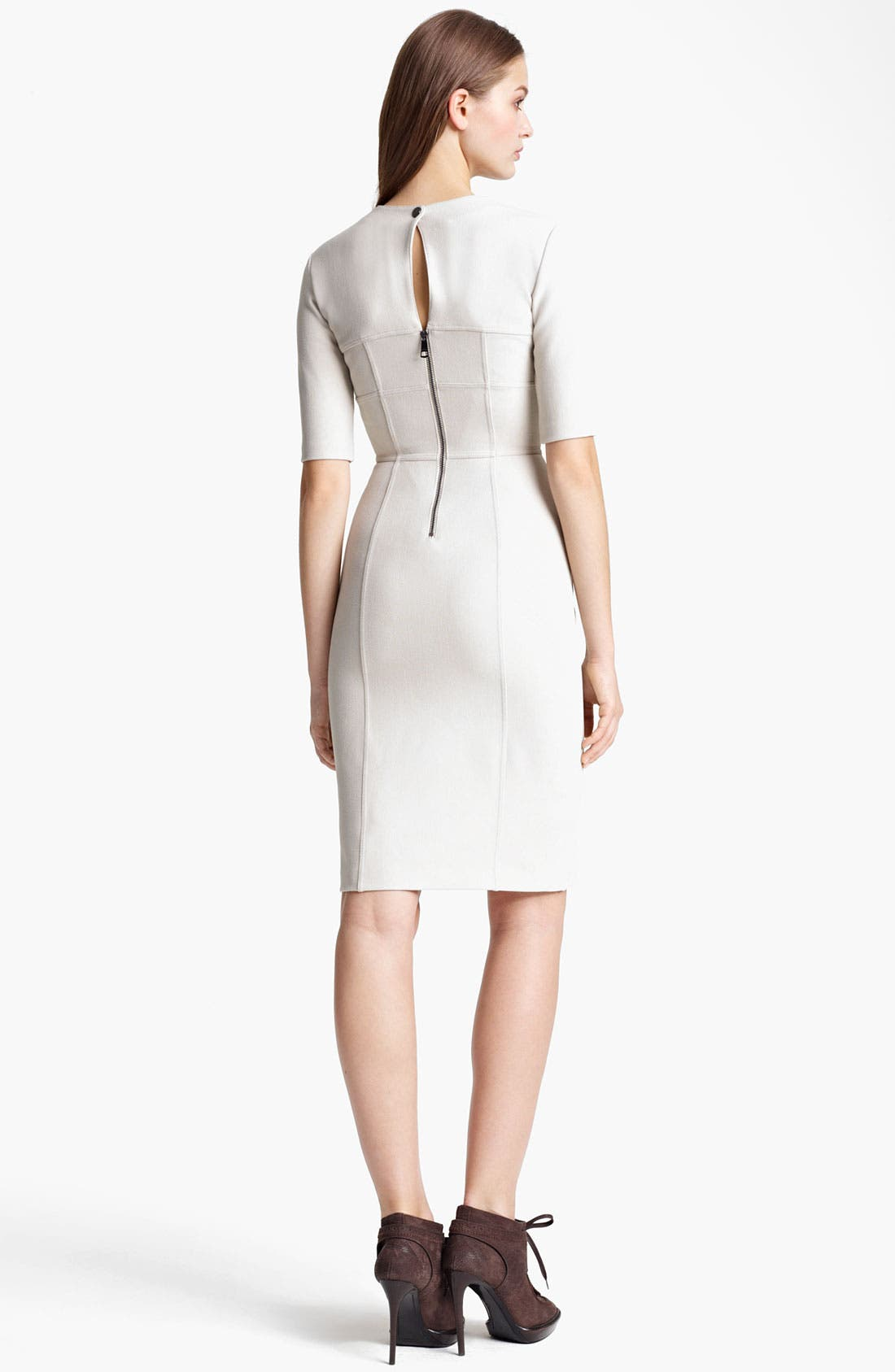 Alternate Image 2  - Burberry London Crepe Dress