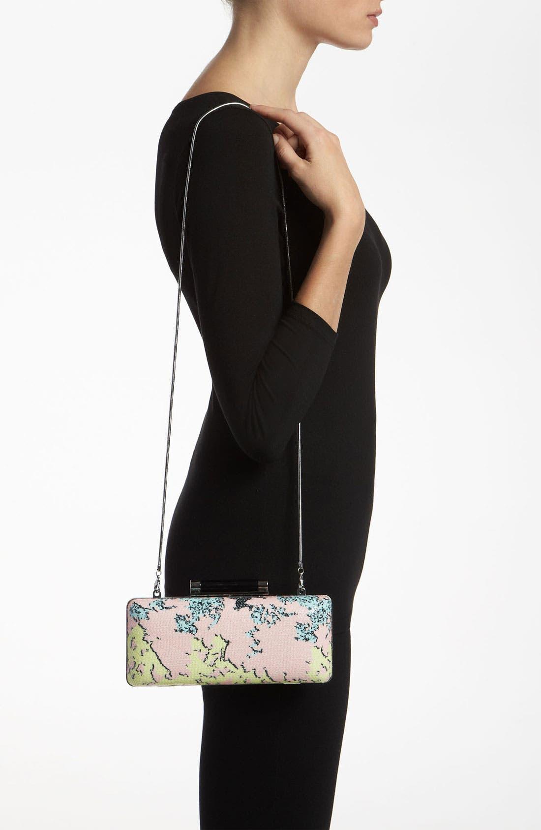 Alternate Image 2  - Diane von Furstenberg 'Tonda' Printed Sequin Clutch