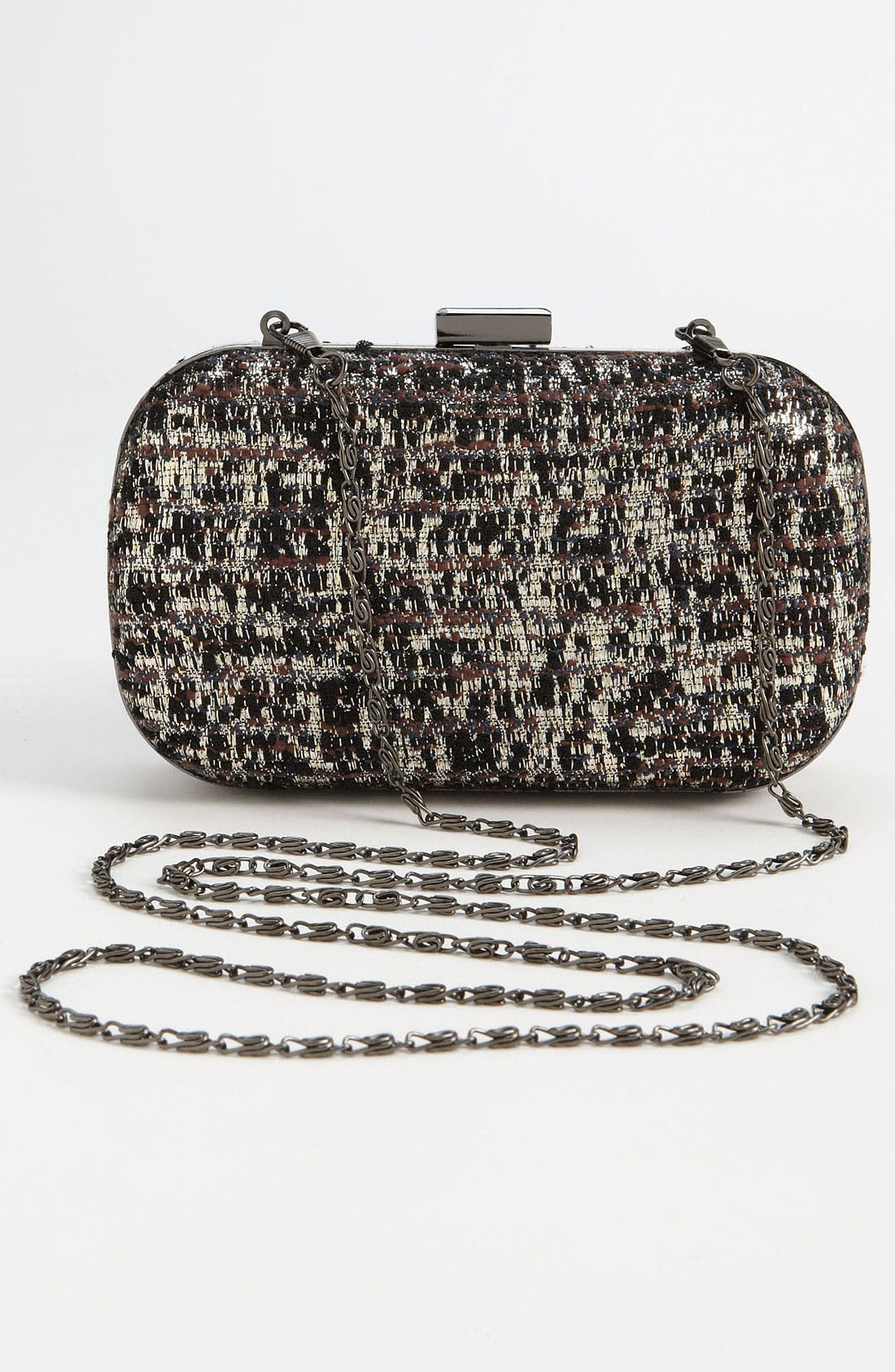 Alternate Image 4  - Natasha Couture Tweed Clutch