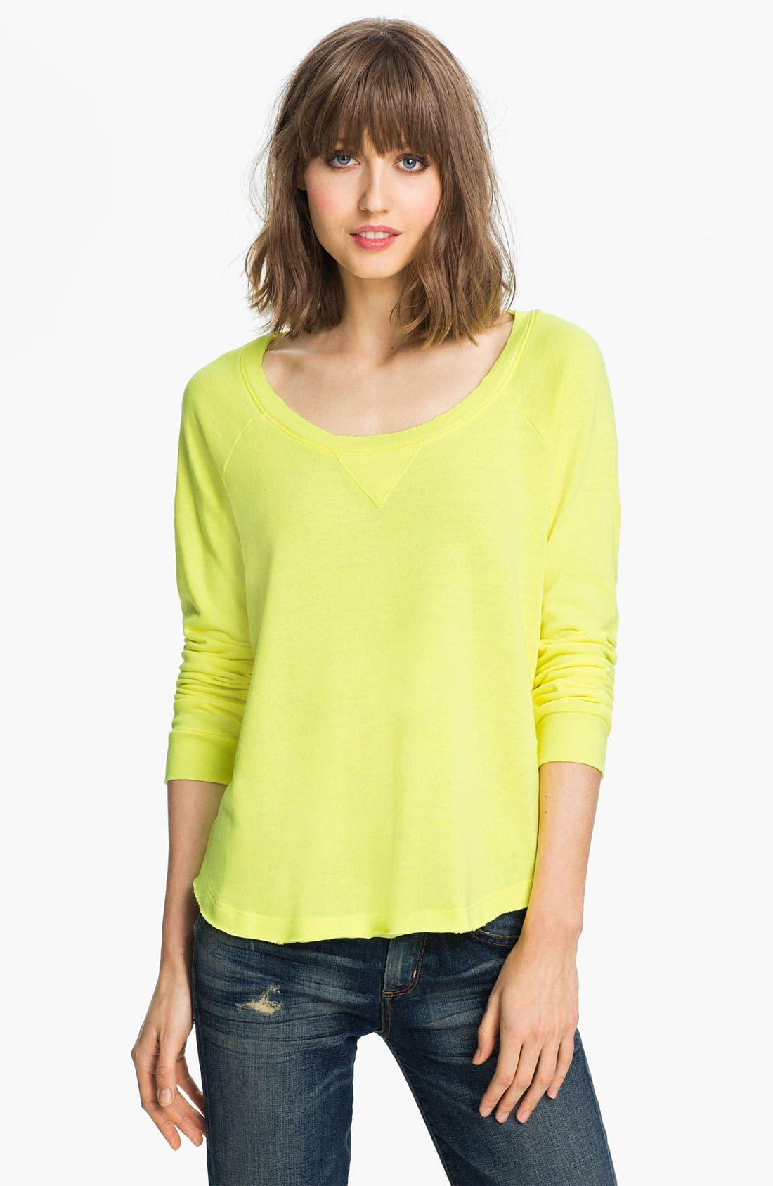 Alternate Image 1 Selected - Splendid Neon Sweatshirt