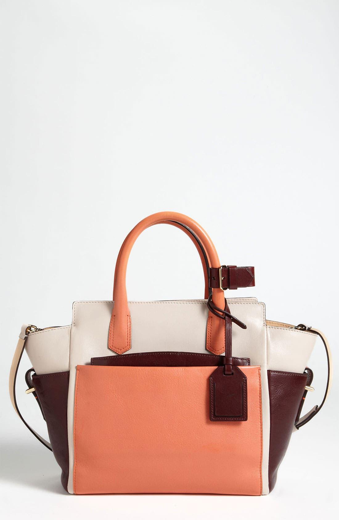 Main Image - Reed Krakoff 'Atlantique - Mini' Colorblock Leather Satchel