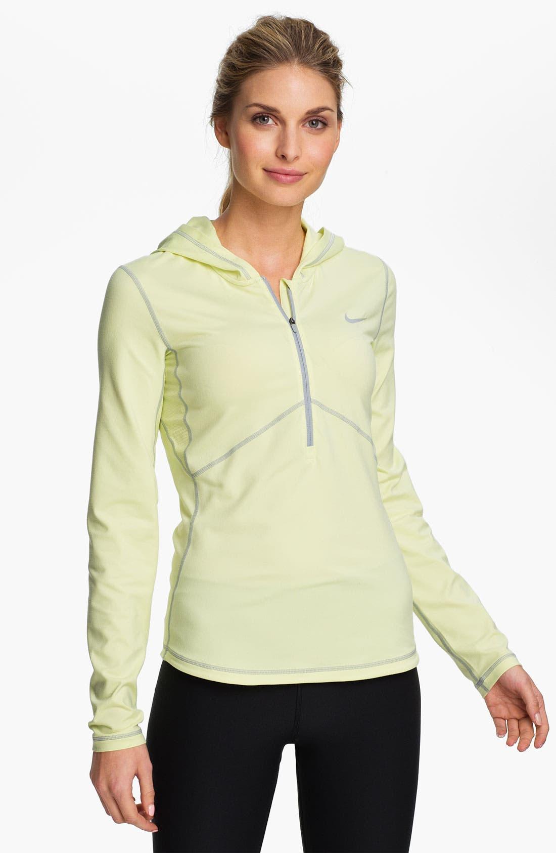 Main Image - Nike Half Zip Hoodie
