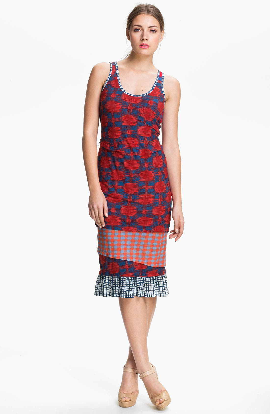 Main Image - MARC BY MARC JACOBS Cotton Jersey Tank Dress