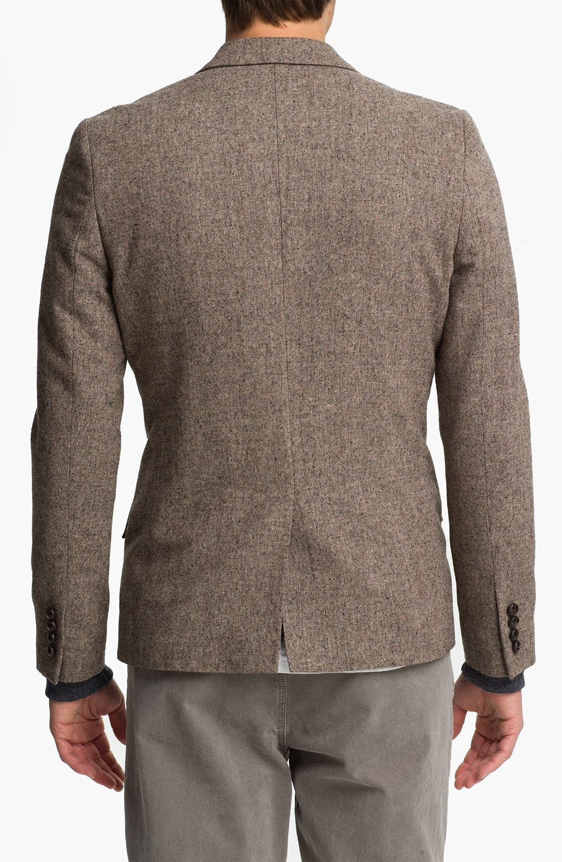 Alternate Image 2  - Topman Heritage Fit Fleck Blazer