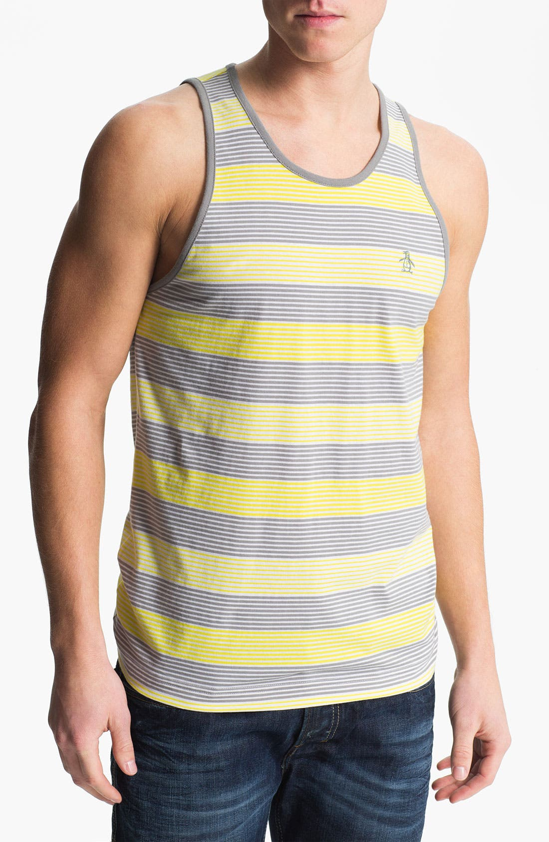 Alternate Image 1 Selected - Original Penguin Stripe Tank Top