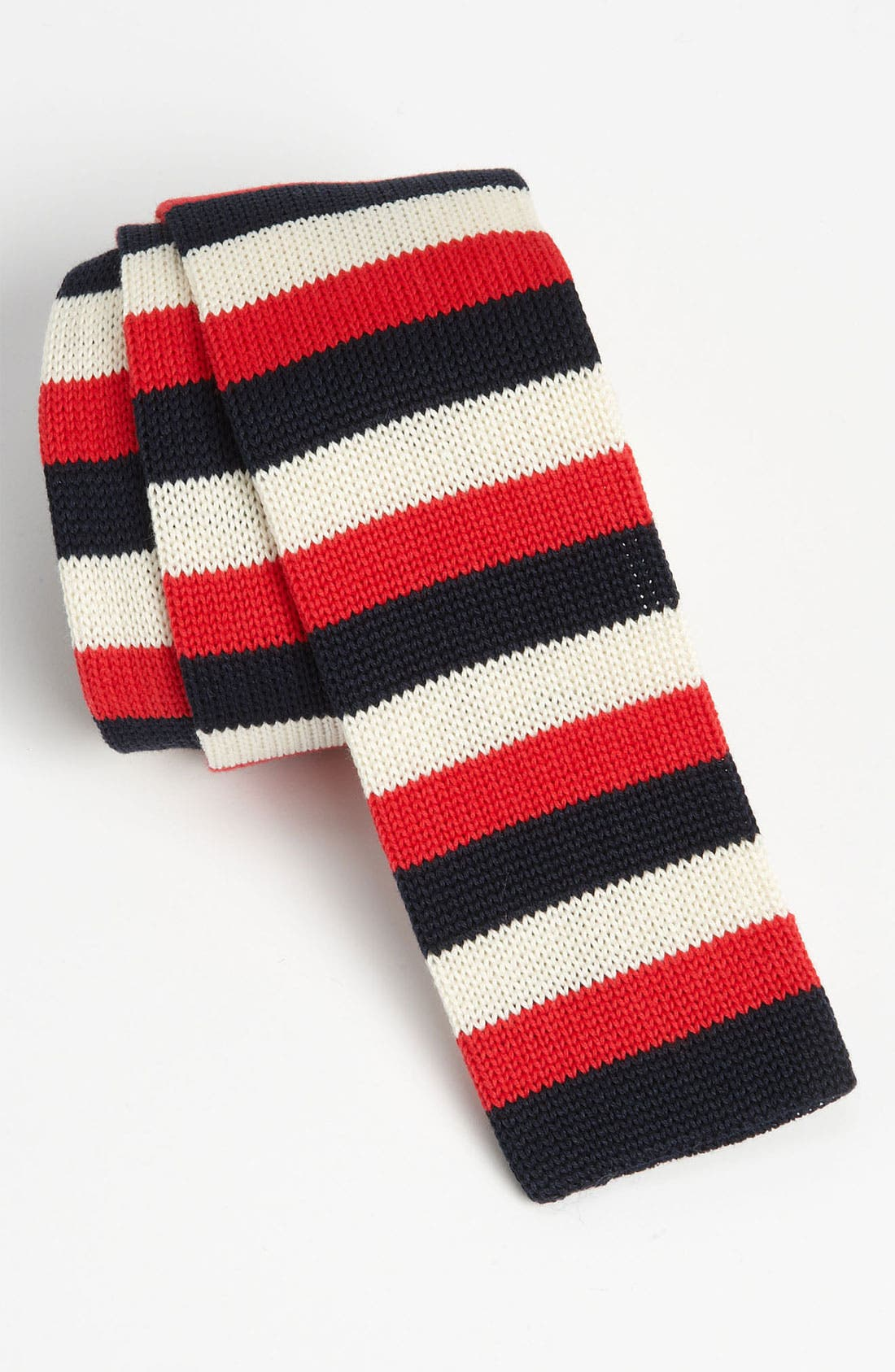 Alternate Image 1 Selected - 1901 Knit Cotton Tie (Online Only)