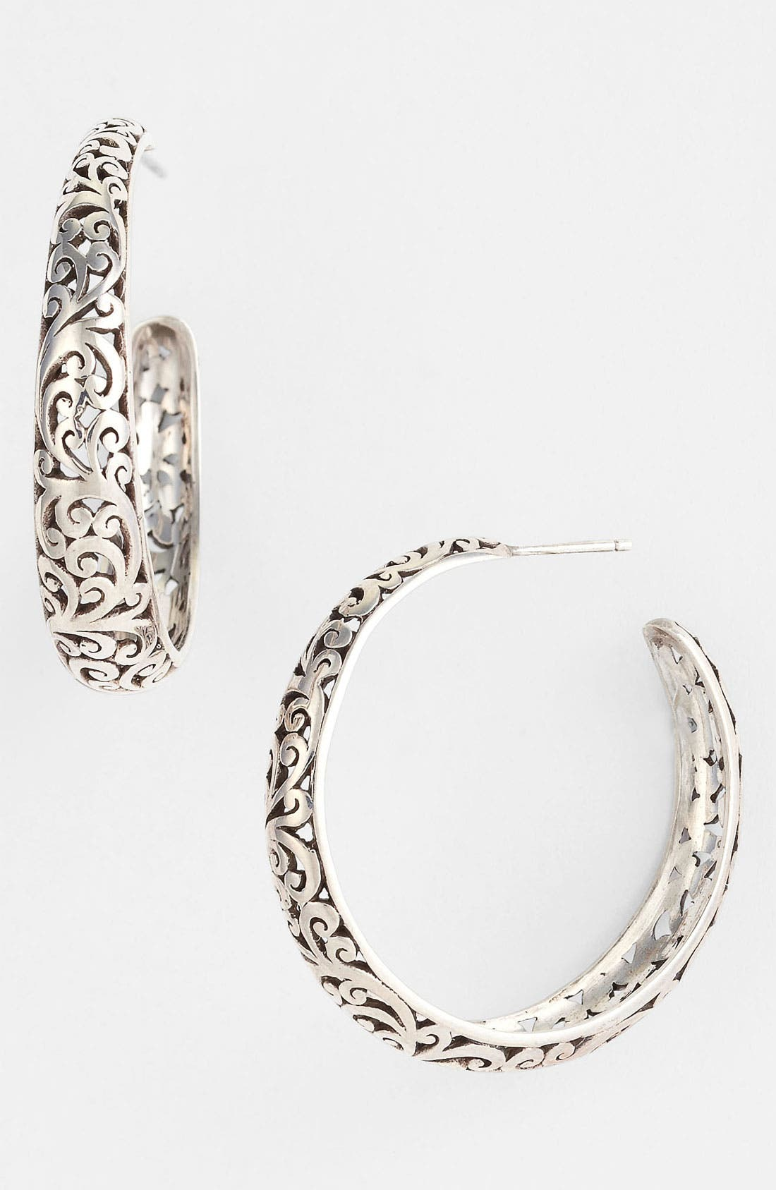 Alternate Image 1 Selected - Lois Hill Hoop Earrings