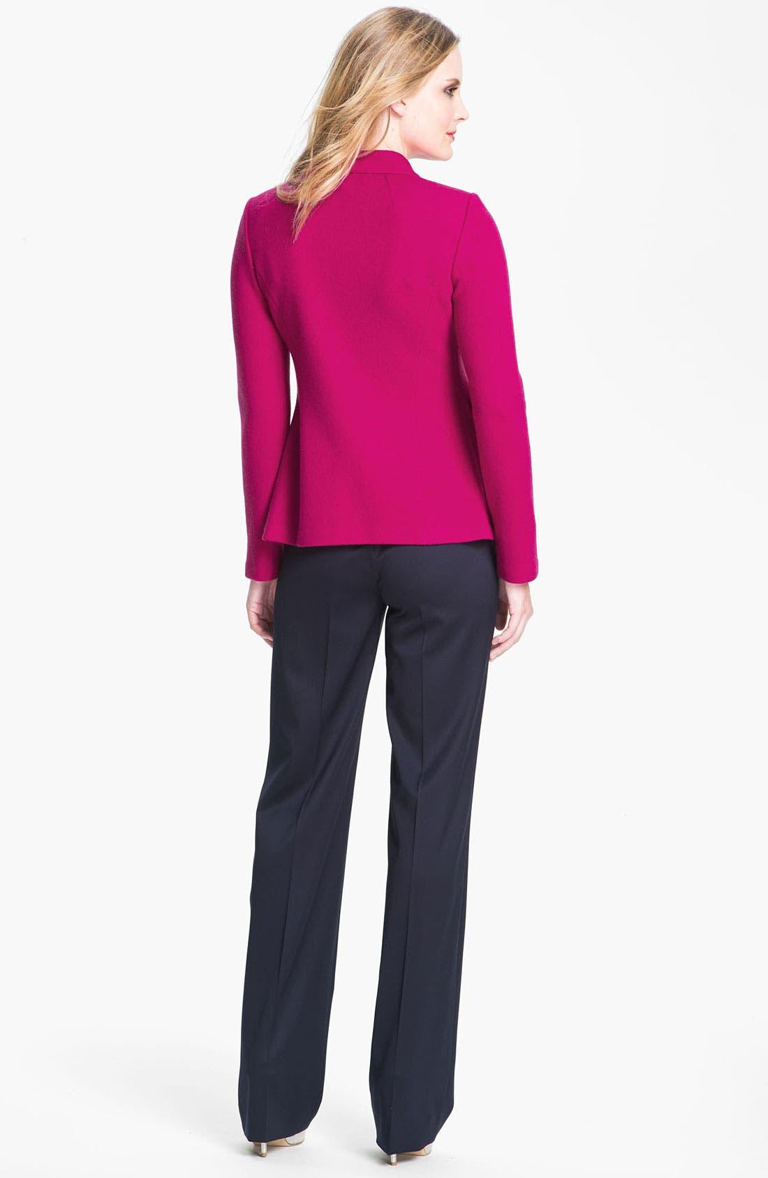 Alternate Image 4  - St. John Collection Wool Felt Jacket
