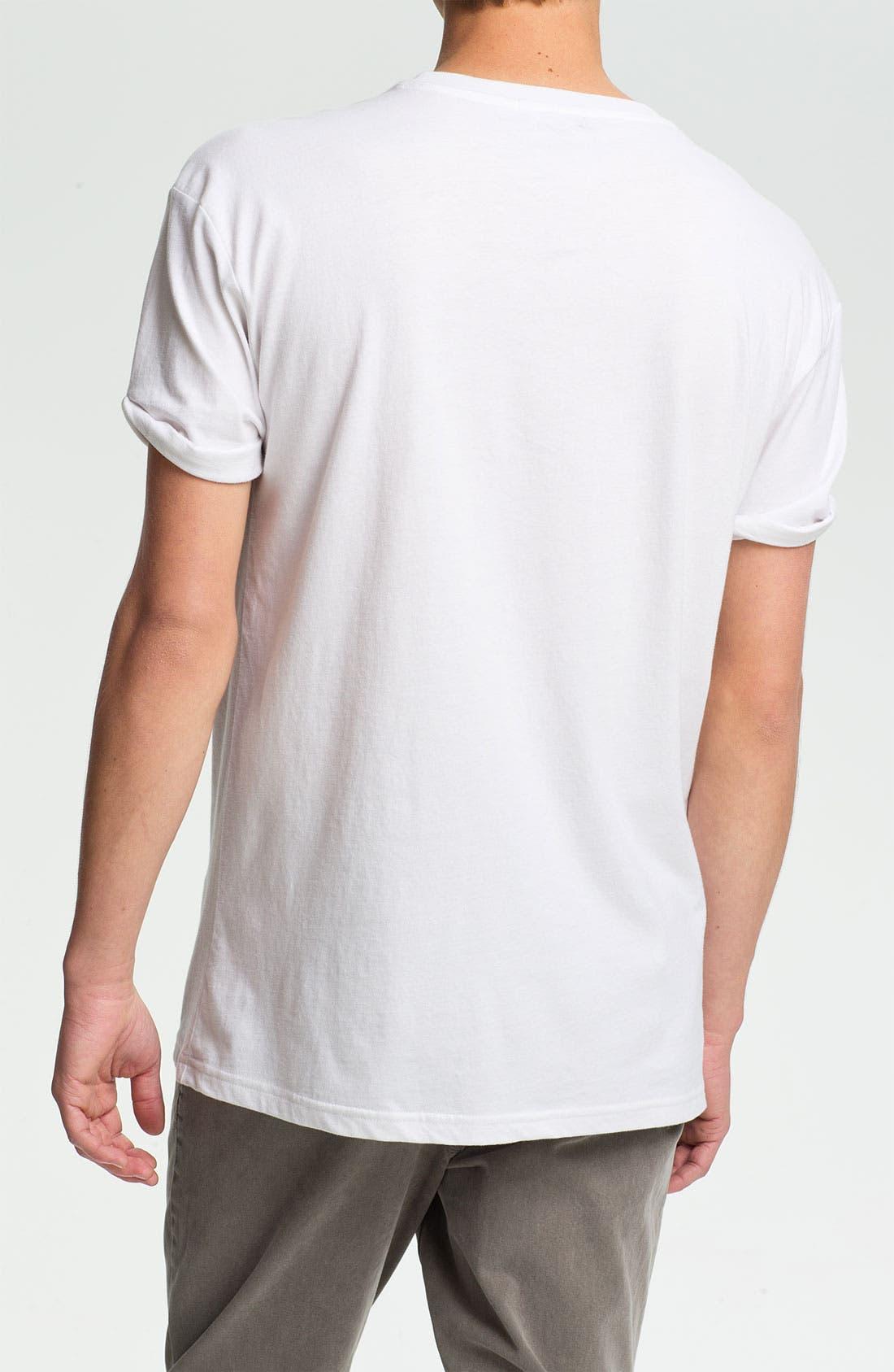 Alternate Image 2  - Topman 'L.A.' Oversized T-Shirt