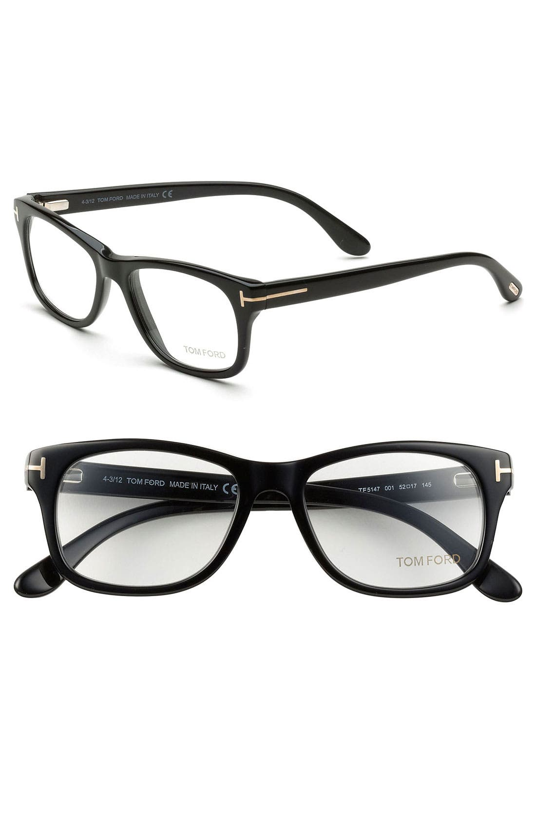 Main Image - Tom Ford 52mm Optical Glasses