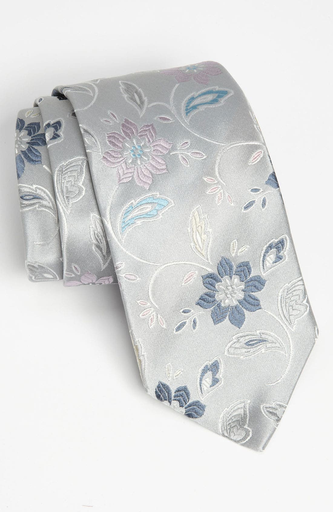 Alternate Image 1 Selected - Duchamp Woven Silk Tie