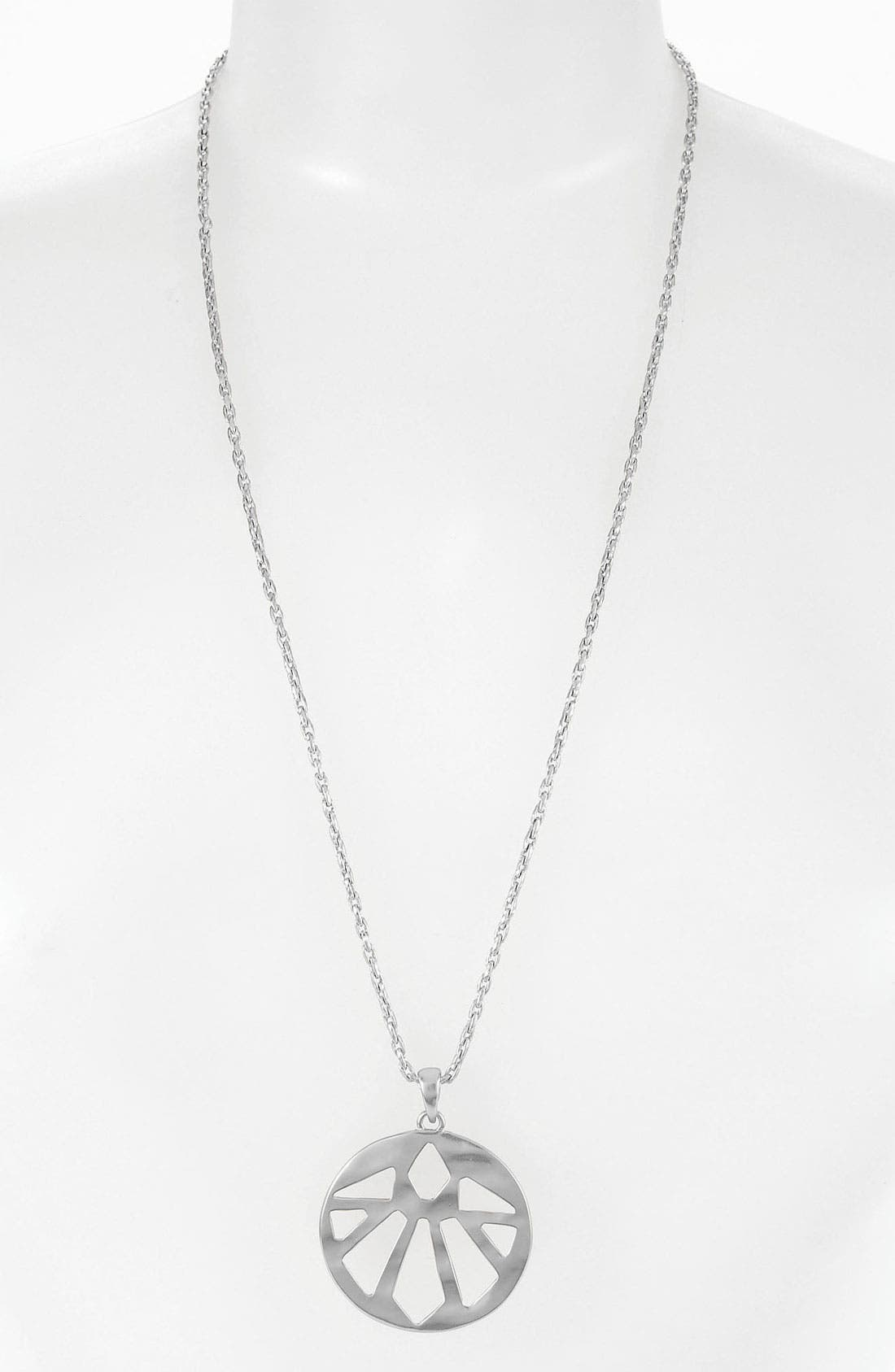 Main Image - Nordstrom Tribal Cutout Pendant Necklace
