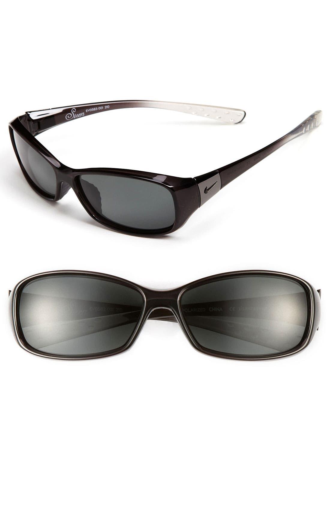 Main Image - Nike 'Siren' 58mm Polarized Sunglasses