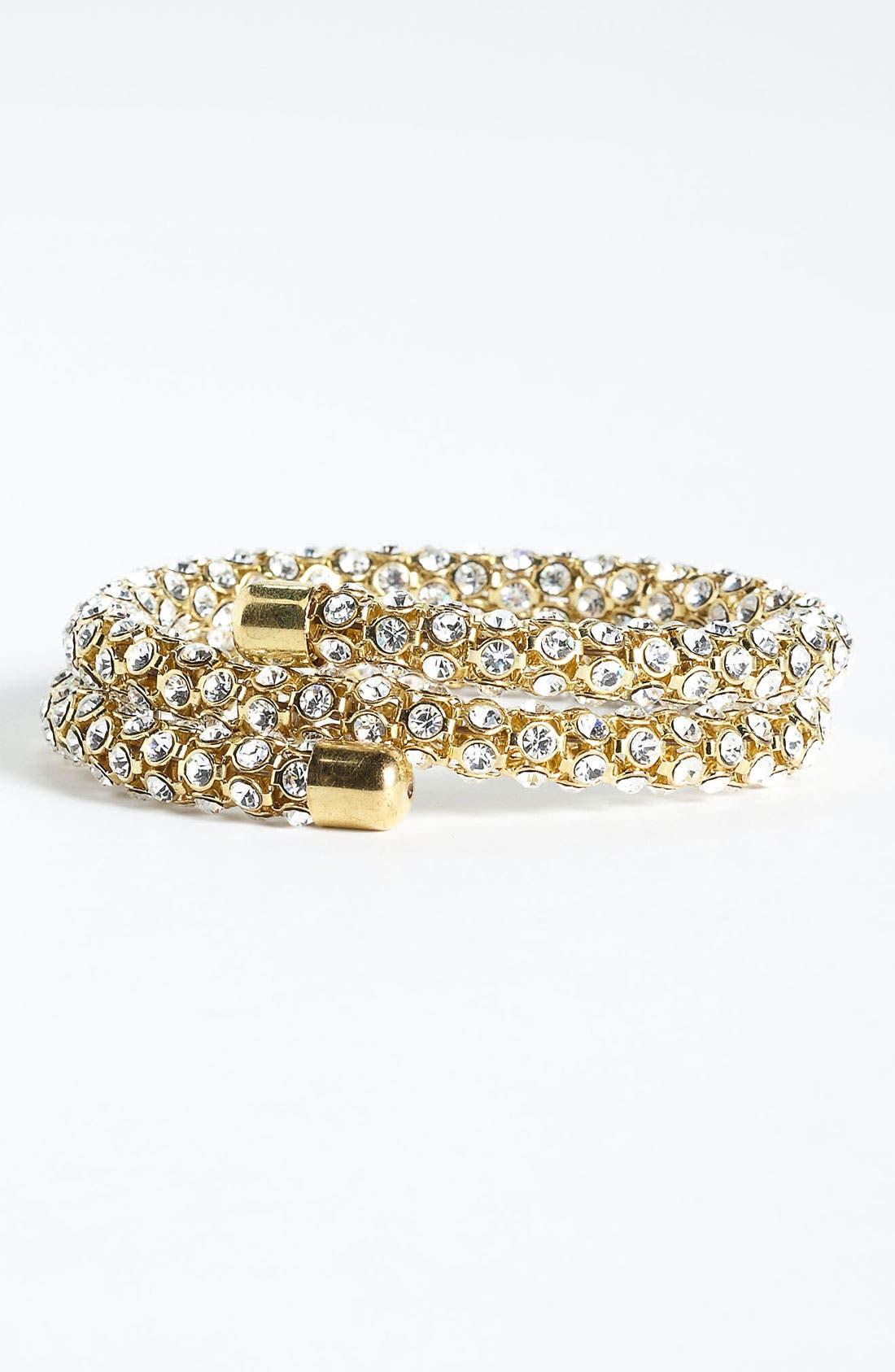 Main Image - BP. Rhinestone Wrap Bracelet